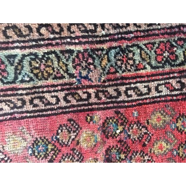 "Antique Hamadan Rug - 3'4"" X 6'6"" - Image 9 of 9"