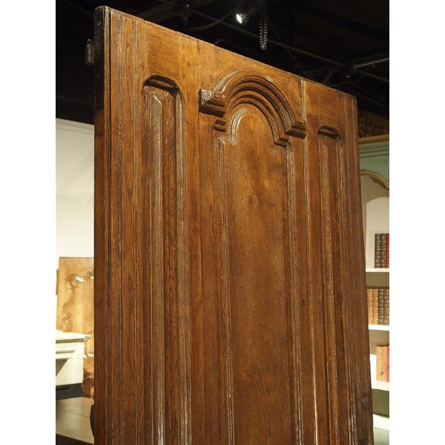 Early 1900s French Louis XIV Style Oak Entry Door For Sale In Dallas - Image 6 of 11