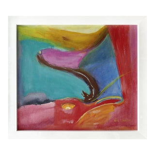 Modern Abstract Painting by Eve Wasser For Sale