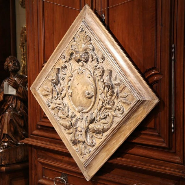 19th C. French Carved Plaque - Image 6 of 9