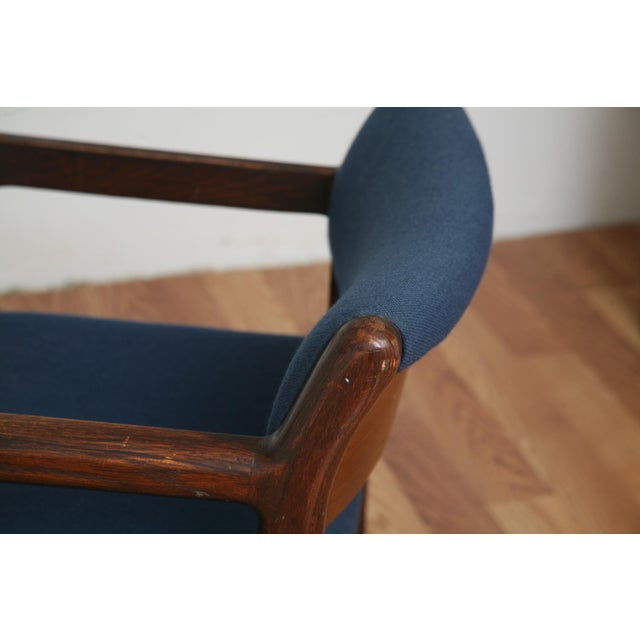 Wood Vintage 1970s Mid-Century Modern Wooden Chair For Sale - Image 7 of 11