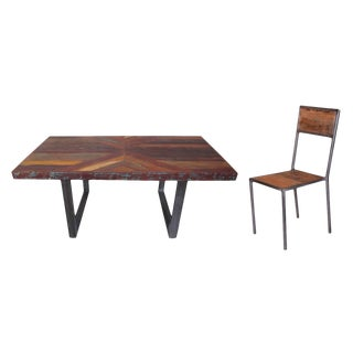 Heurich Dining Chair & Table