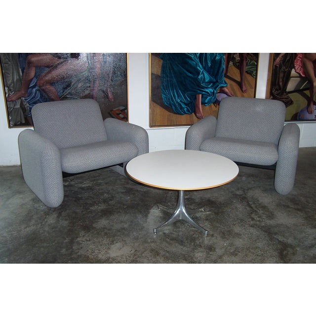 Vintage Herman Miller Chiclet Loveseat Couch Sofa For Sale - Image 5 of 5