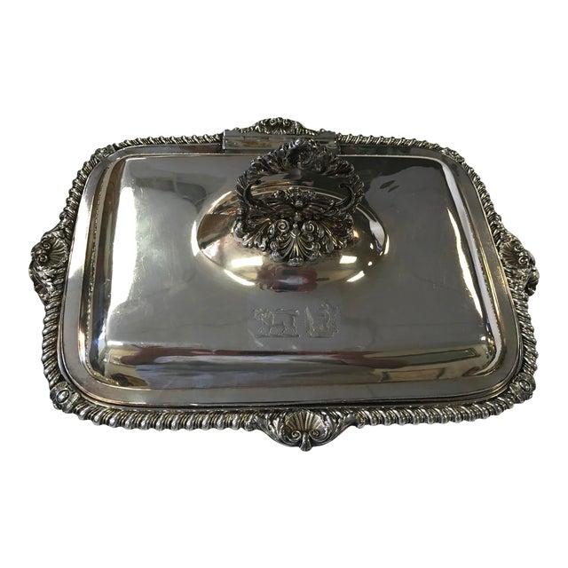 George III Sheffield Silver Plate Cheese Warmer - Image 1 of 8
