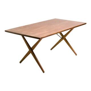 Early Hans Wegner AT-303 Cross Leg Dining Table