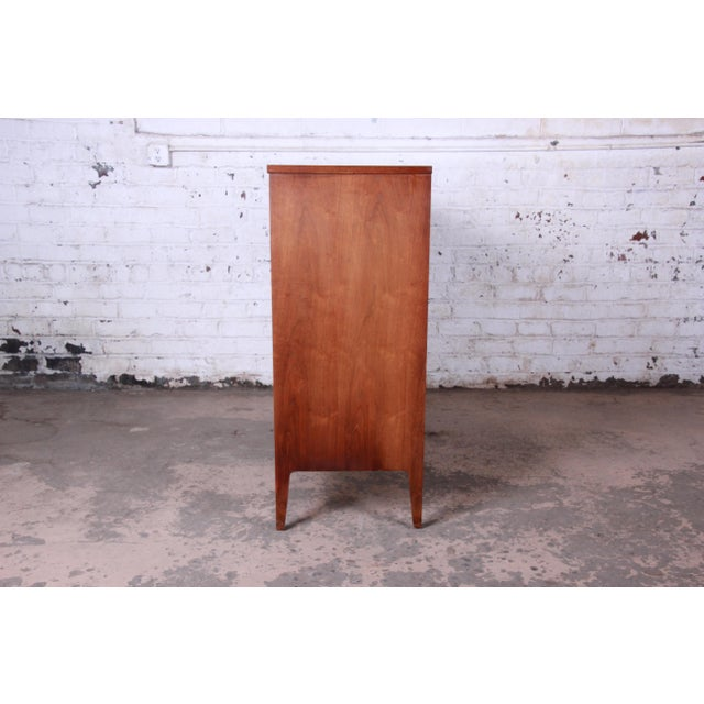 Broyhill Premier Mid-Century Modern Magna Gentleman's Chest For Sale - Image 10 of 12