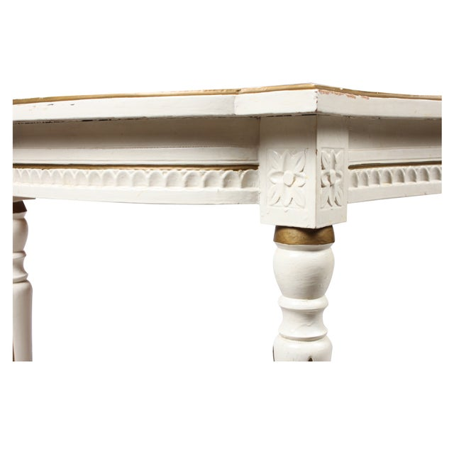 Antique Swedish Louis XV Gustavian Table - Image 4 of 4