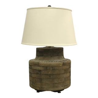 Industrial Wood From Lamp
