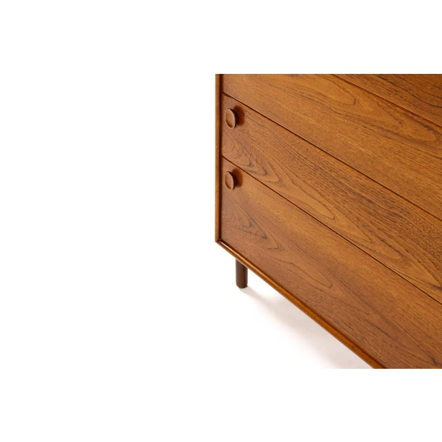 1960s Mid Century Modern Meredew Teak Upright Dresser For Sale In Los Angeles - Image 6 of 9
