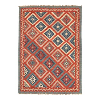 Multicolored Turkish Style Wool Rug - 8'x10'