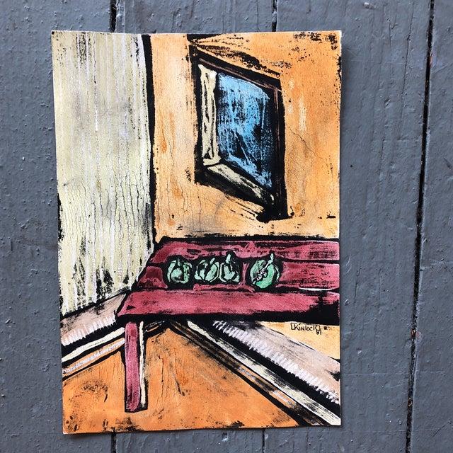 """Collection 11 Original Vintage Gouache Paintings """"Sur La Table"""" For Sale In Philadelphia - Image 6 of 13"""