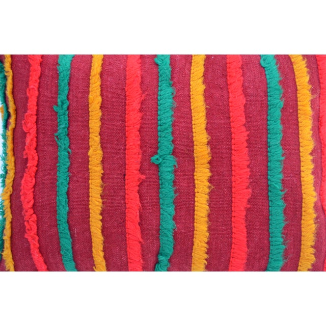 Moroccan Berber Star Pillow For Sale In New York - Image 6 of 8