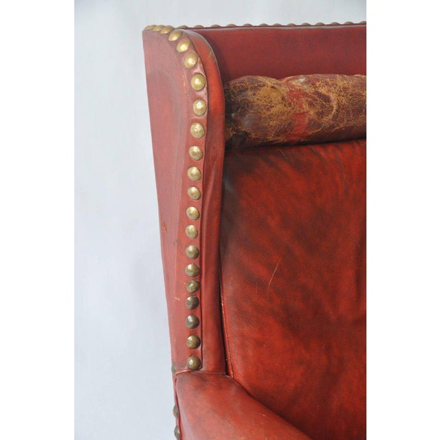 Leather Lounge Chair by Otto Schulz For Sale In Boston - Image 6 of 8