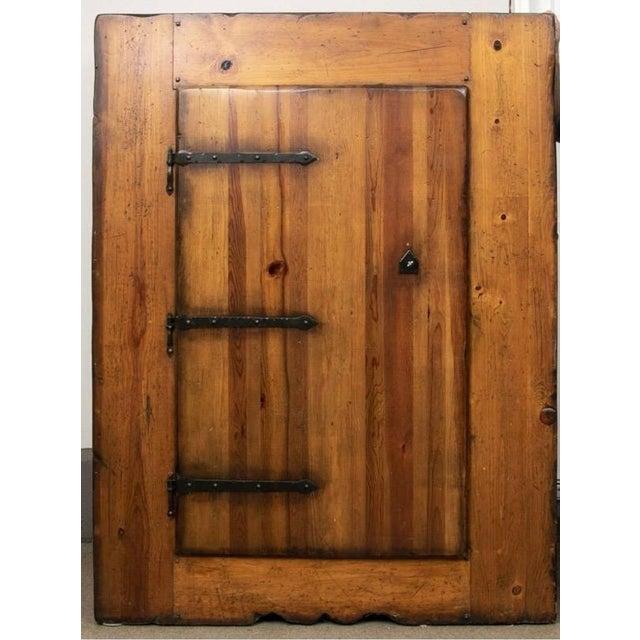 Monumental Ralph Lauren for Henredon Pine Cabinet For Sale - Image 11 of 11
