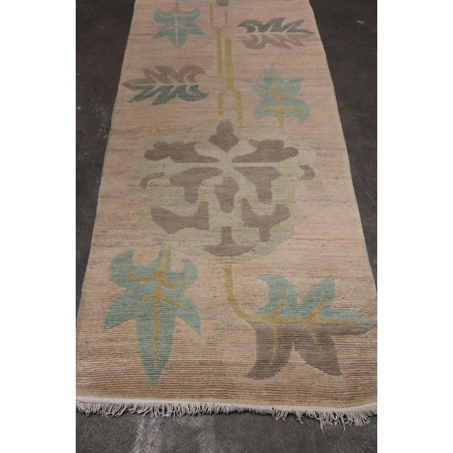 Serene Geometric Runner Rug - 3' X 11' - Image 3 of 6