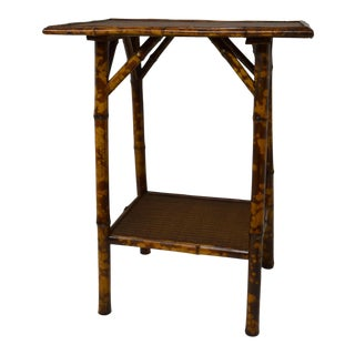 19th-Century Rectangular Bamboo Table For Sale