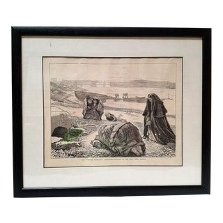 Irish Illustration the Western Highlands Connemara Visit to the Holy Well Galway For Sale