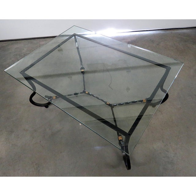 Jansen Style Coffee Table For Sale In Philadelphia - Image 6 of 6