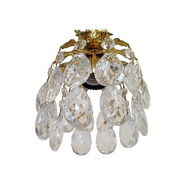 Schonbek Crystal Pendants - Pair - Image 4 of 7