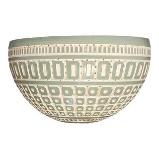 Raku Ceramic Wall Sconce For Sale