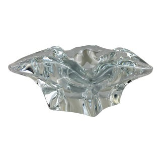Bayel French Crystal Irregular Star Shaped Bowl For Sale