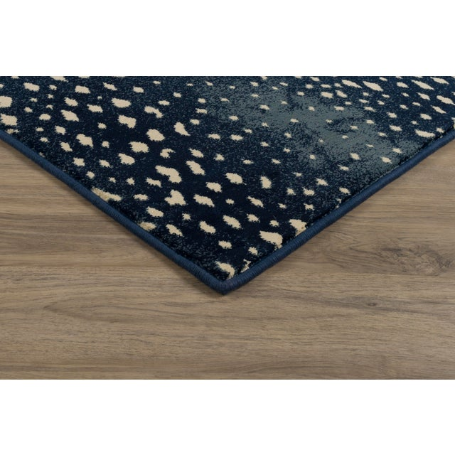 "Contemporary Stark Studio Rugs Deerfield Blue Rug - 7'10"" X 10'10"" For Sale - Image 3 of 6"