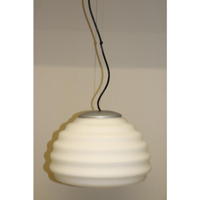 Mid-Century Modern Mid-Century Modern Murano Glass Pendant Lamp For Sale - Image 3 of 12