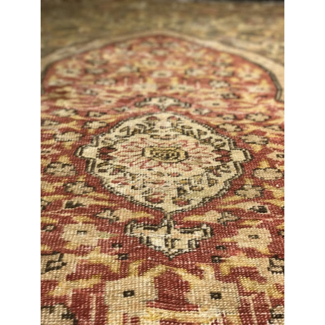 Bellwether Rugs Distressed Look Vintage Turkish Oushak Area - 4'x6' - Image 8 of 11