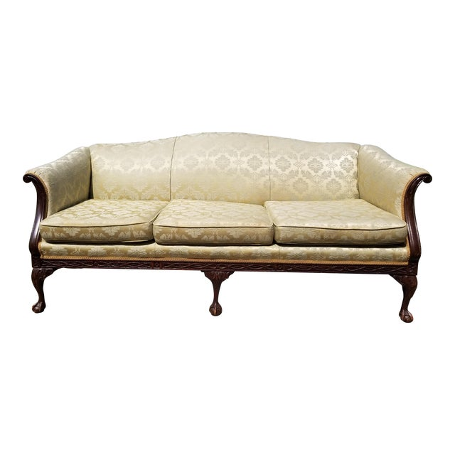 French Provincial Couch And Loveseat