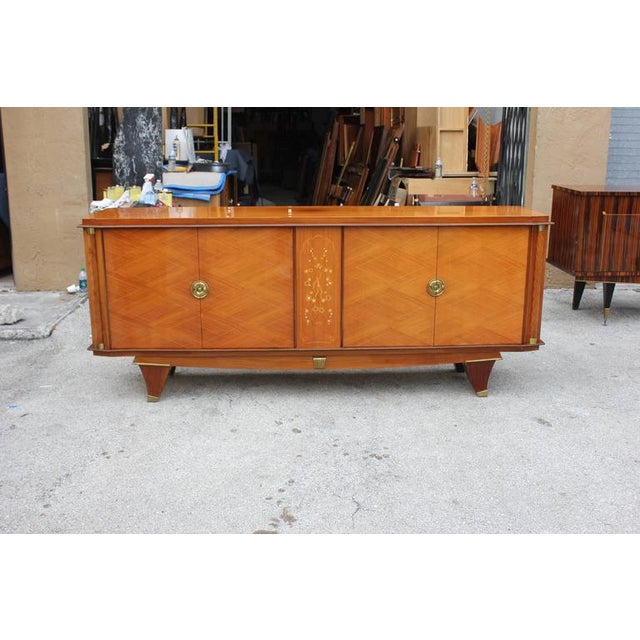 French Art Deco Palisander Sideboard - Image 3 of 10