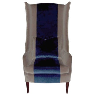 Fladdermus Tall Wingback Chair For Sale