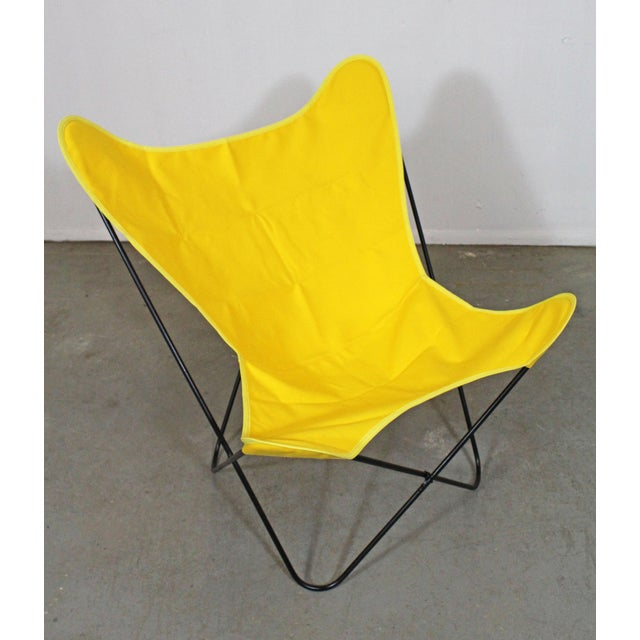 Mid-Century Modern Mid-Century Modern Knoll Style Iron Butterfly Chair For Sale - Image 3 of 8