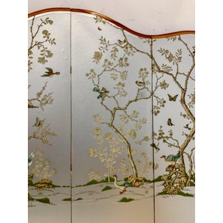 Large Scale Hollywood Regency Folding Screen Att. To Gracie Preview