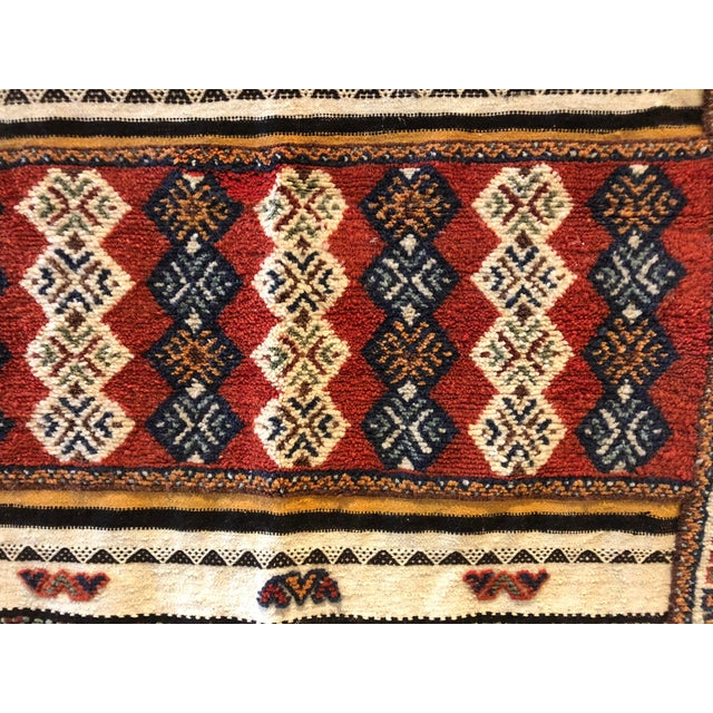 Vintage Moroccan Rug For Sale In Boston - Image 6 of 8