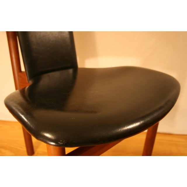 "1960s Hans Olsen ""King Fredrik Vii"" Chair by m.j. Rassmussen For Sale - Image 5 of 13"