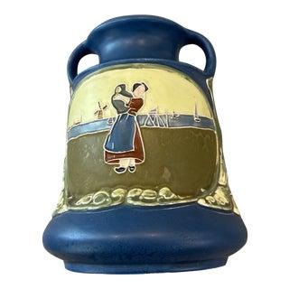 Julius Dressler Bohemian Secessionist Vase For Sale