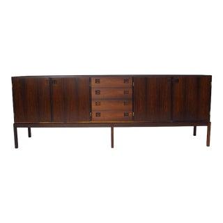 Johannes Andersen Brazilian Rosewood Danish Sideboard, circa 1964 For Sale