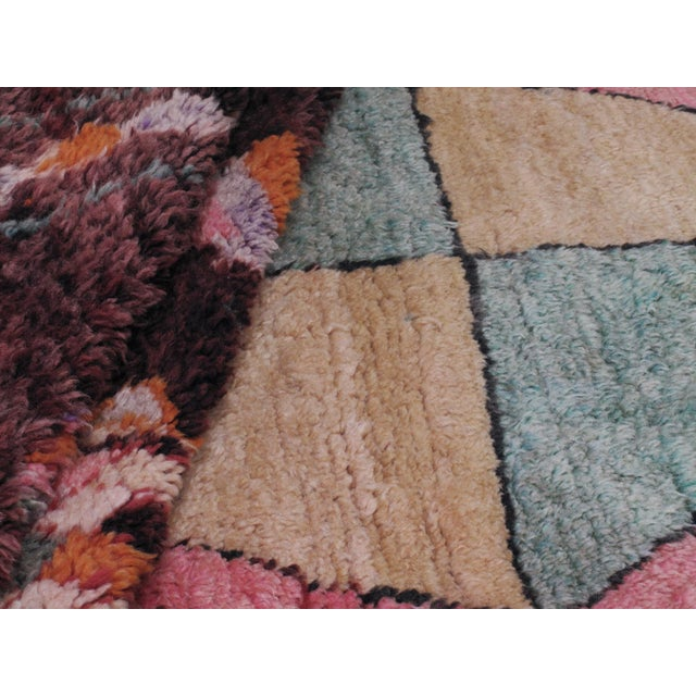 Moroccan Boujad Rug - 5′9″ × 11′8″ For Sale - Image 10 of 12