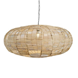 Rattan Web Ufo Lantern For Sale