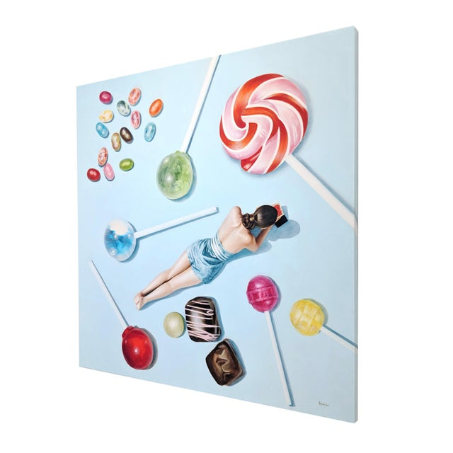 """Refined Elegance"" Original Artwork by Elise Remender For Sale In Los Angeles - Image 6 of 11"