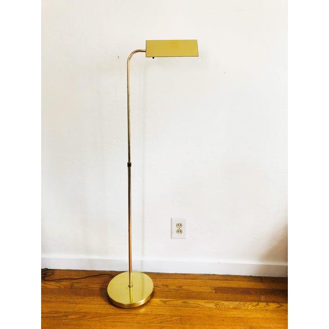 Vintage Brass Pharmacy Floor Lamp By, Vintage Brass Pharmacy Lamp