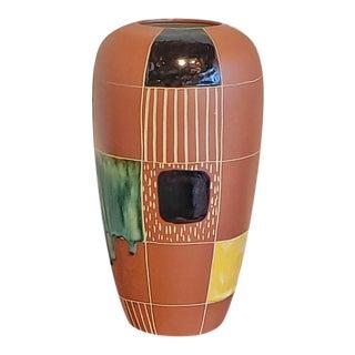 1950s Marei Keramik 'Kuba' Decor Vase by Bodo Mans For Sale