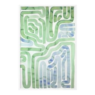 Tide Pool by Kate Roebuck in White Framed Paper, Medium Art Print