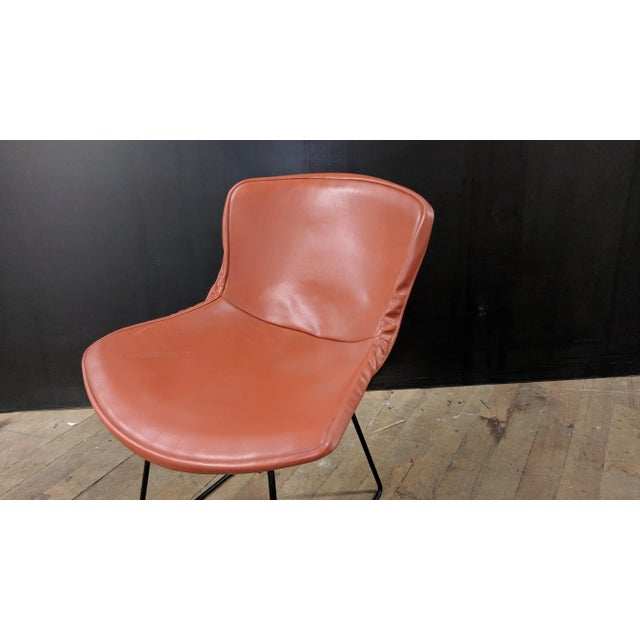 Mid-Century Modern Vintage Knoll Bertoia Early 80s Side Chair For Sale - Image 3 of 6