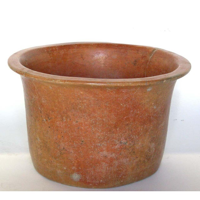 Contemporary Antique Clay Vessel For Sale - Image 3 of 11