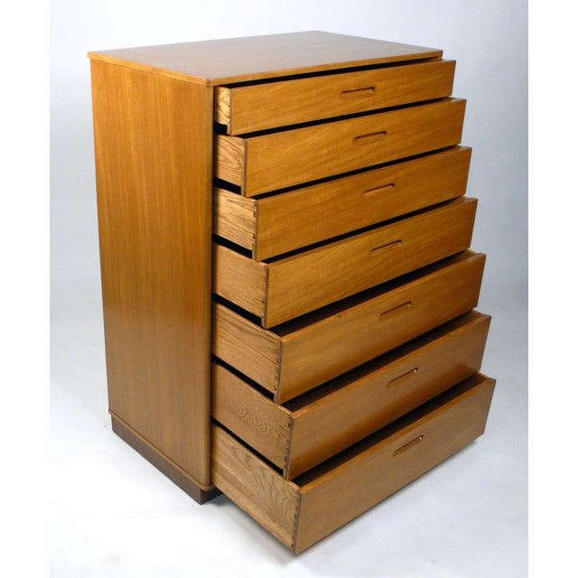 Seven-Drawer Chest Designed by Edward Wormley for Dunbar For Sale In Dallas - Image 6 of 11