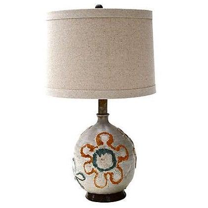 1960s Studio Art Ceramic Lamp - Image 1 of 6