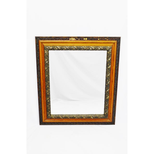 Decorative Wood Gesso Mirror - Image 2 of 11