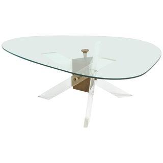 Manner of Hollis Jones Triangular Coffee Table For Sale