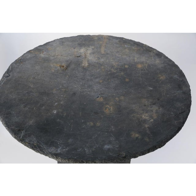 Stone French Table d'Ardoise For Sale - Image 7 of 8